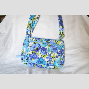 LITTLE HIPSTER Mini Crossbody in Blueberry Blooms